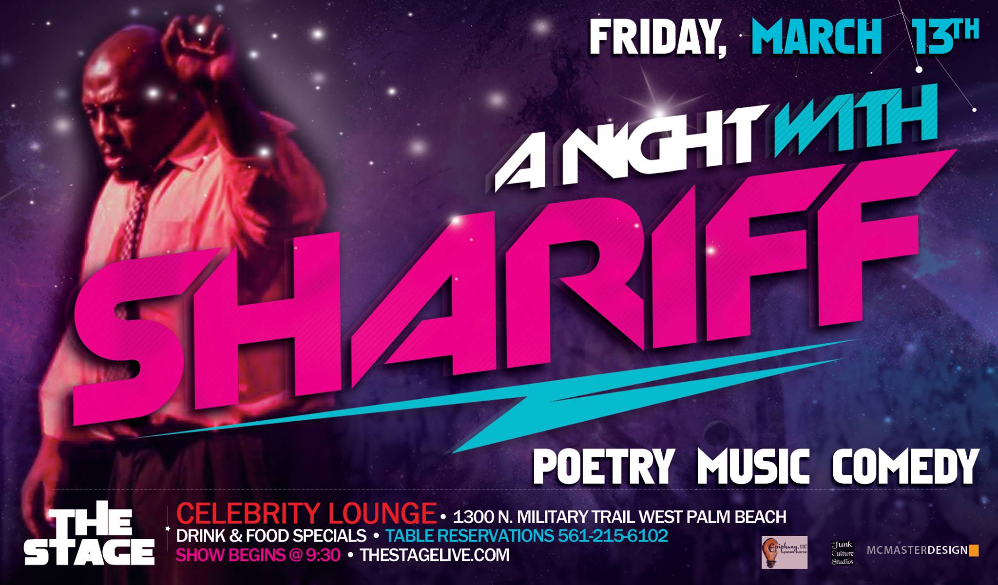 THE STAGE Presents...A Night with Shariff
