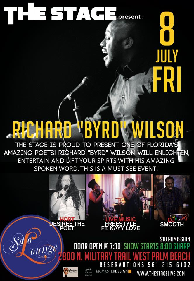 "THE STAGE PRESENTS...Richard ""Byrd"" Wilson"