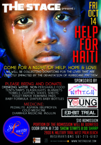 The Stage Help for Haiti