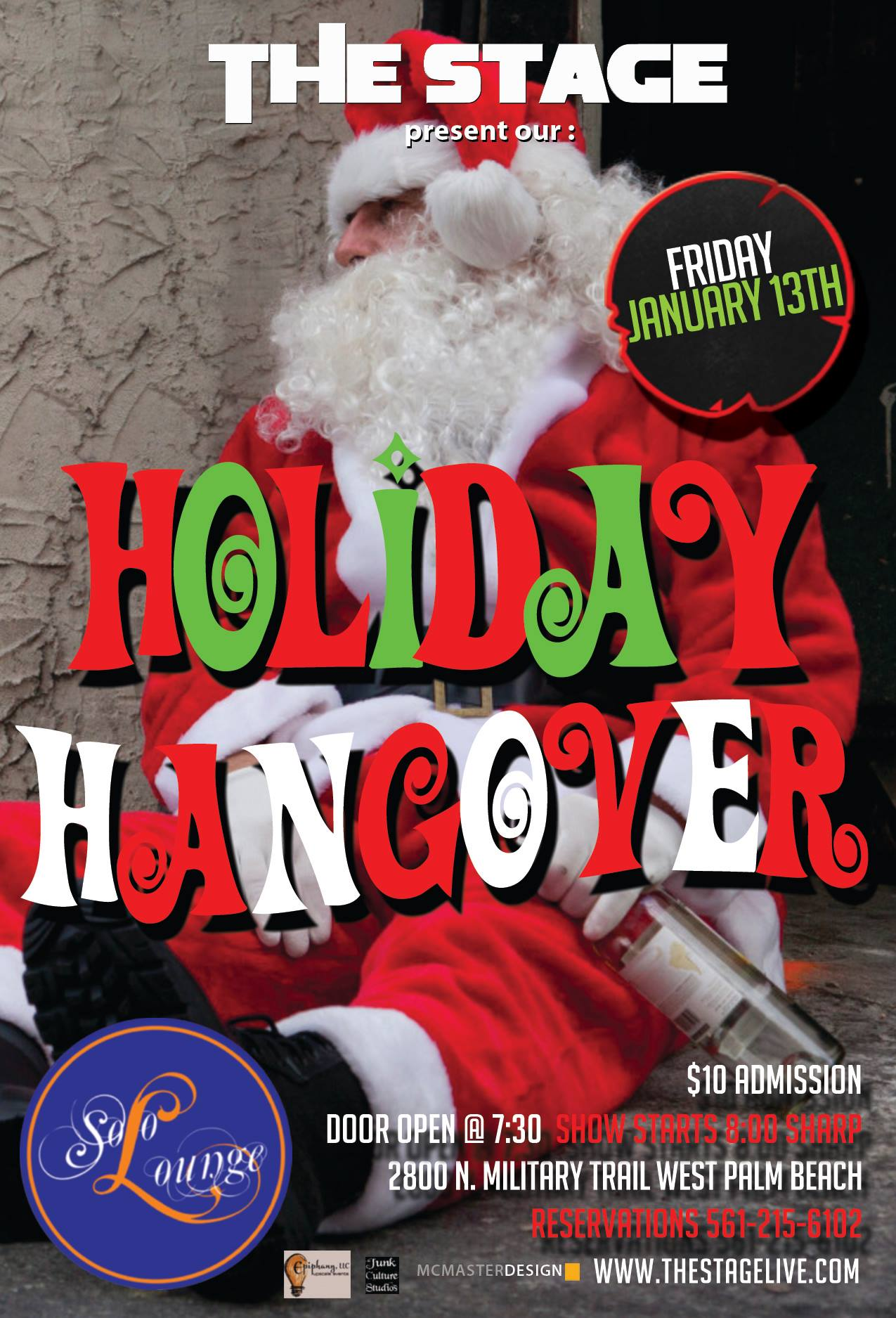 The STAGE presents the Holiday Hangover - Jan 17th