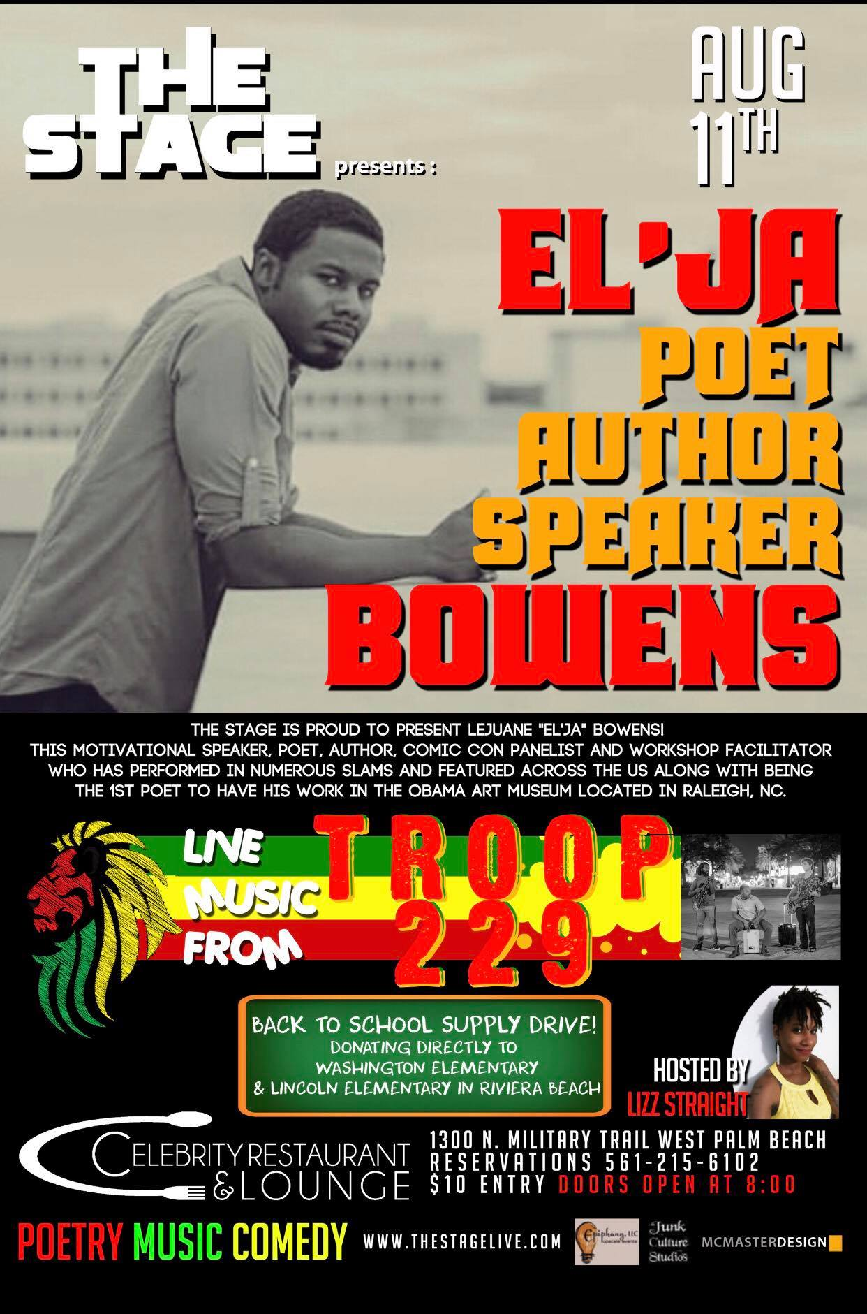 The Stage featuring El'Ja Bowens and Troop 229